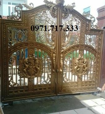 Bàn giao cổng tự động âm sàn tại Biên Hòa