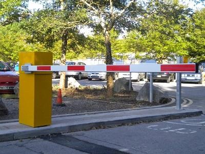 Barier tự động phân luồng giao thông