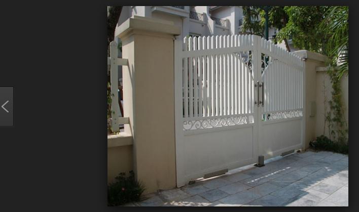 Bí quyết chọn cổng tự động cho nhà thêm xinh