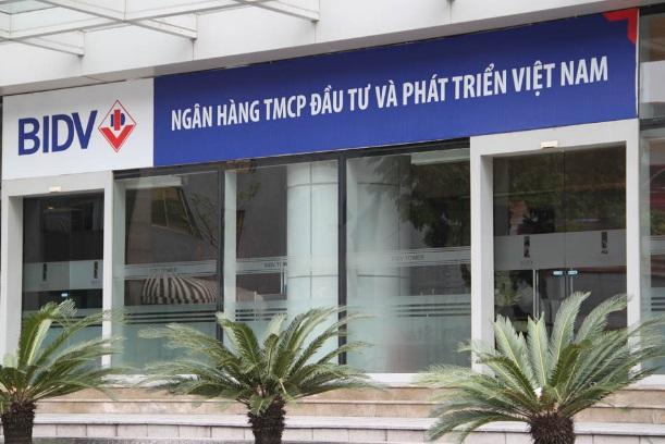 Công trình cửa tự động tại ngân hàng BIDV