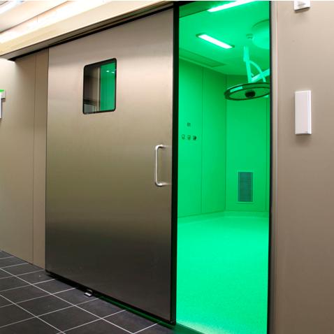 Cửa tự động bệnh viện –thiết bị an toàn, tiện nghi