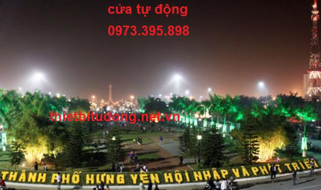 cửa tự động tại Hưng yên