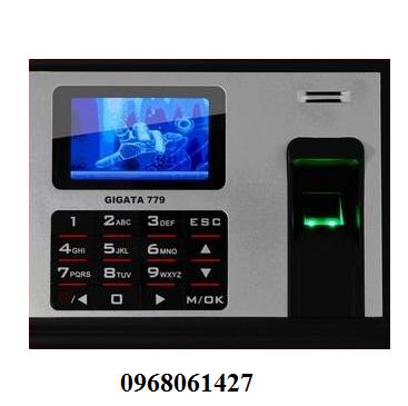 Máy chấm công bằng vân tay và thẻ cảm ứng GIGATA 779
