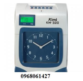 máy chấm công thẻ giấy Kimi KM320