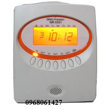 máy chấm công thẻ giấy Seiko QR-6561