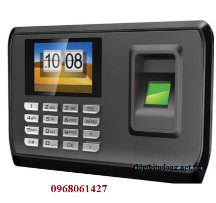 Máy chấm công vân tay thẻ từ UCHIDA C128