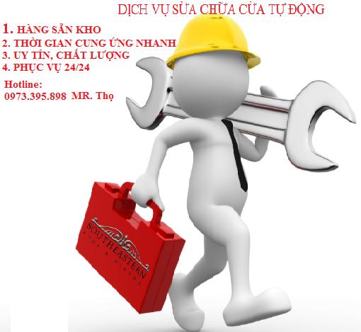 Sửa chữa cửa tự động tại Thành Phố Hồ Chí Minh