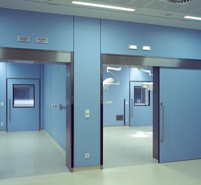 Thi công, lắp đặt cửa tự động bệnh viện