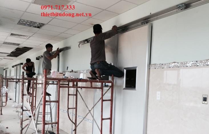 Bàn giao 24 bộ cửa tự động cho bệnh viện trung ương  Lâm Đồng II