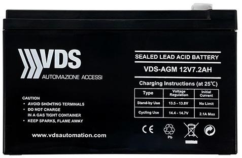 Bình lưu điện VDS 12v- 7.2ah