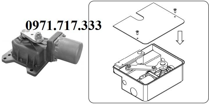 Cách lắp đặt motor cổng tự động âm sàn italya VDS