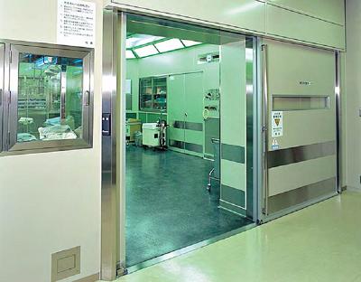 Cấu tạo cửa kín khí bệnh viện