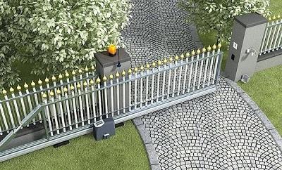 Chọn loại cổng trượt tự động phù hợp với ngôi nhà của bạn