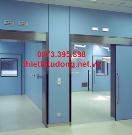 chuyên nhận thi công, lắp đặt cửa tự động bệnh viện