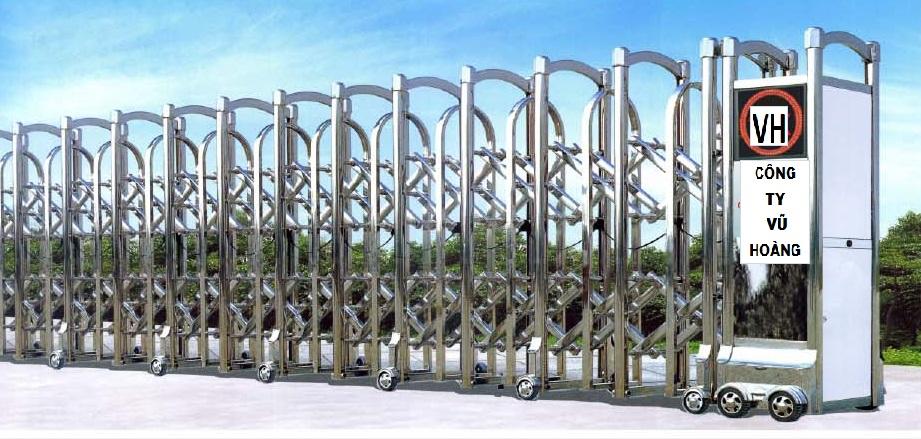 Chuyên thiết kế cổng  xếp dành cho các doanh nghiệp