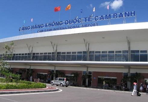 Công trình cửa tự động tại sân bay Cam Ranh