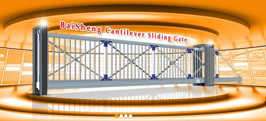 Cổng trượt tự động Baisheng