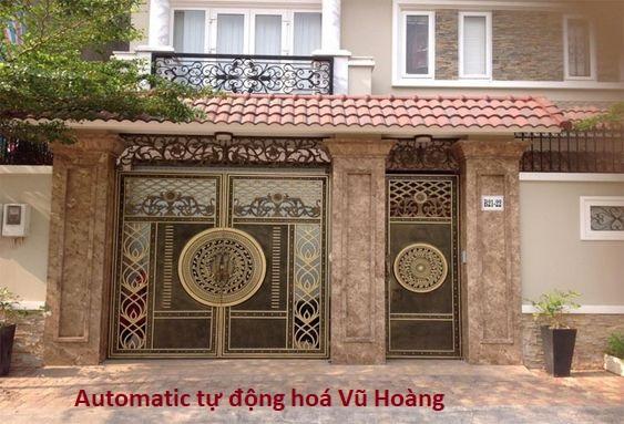 cổng tự động âm sàn tại Đồng Nai