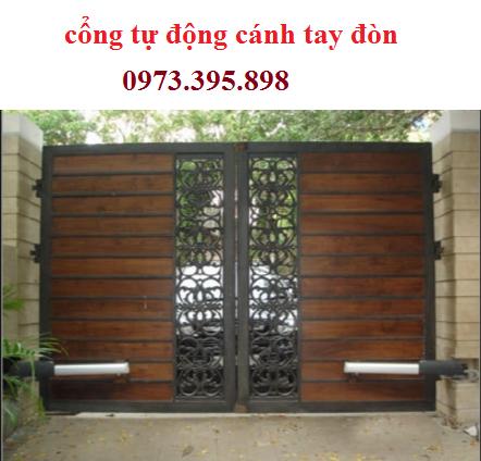 cổng tự động cánh tay đòn giá trị cho ngôi nhà