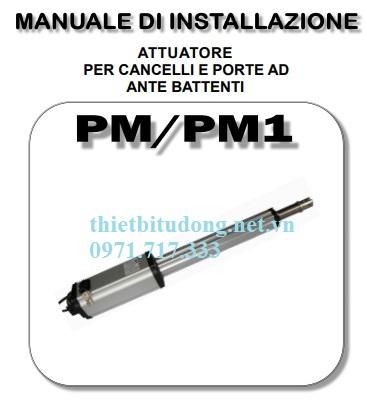 Cổng tự động cánh tay đòn PM/ PM1