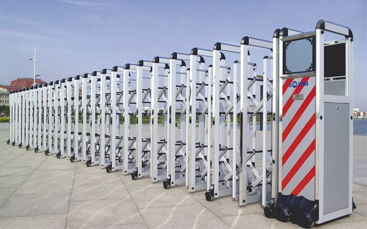 Cổng  xếp - Cổng xếp tự động Hợp kim nhôm/ Inox/ Nhôm đúc các loại