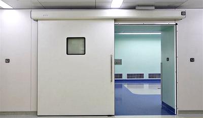 Cửa kín khí bệnh viện