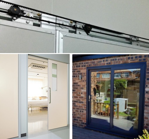 Cửa nhôm lùa 1 cánh bán tự động, hiện đại, môi trường ứng dụng rộng rãi