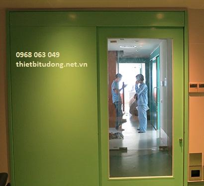 Cửa trượt tự động bệnh viện
