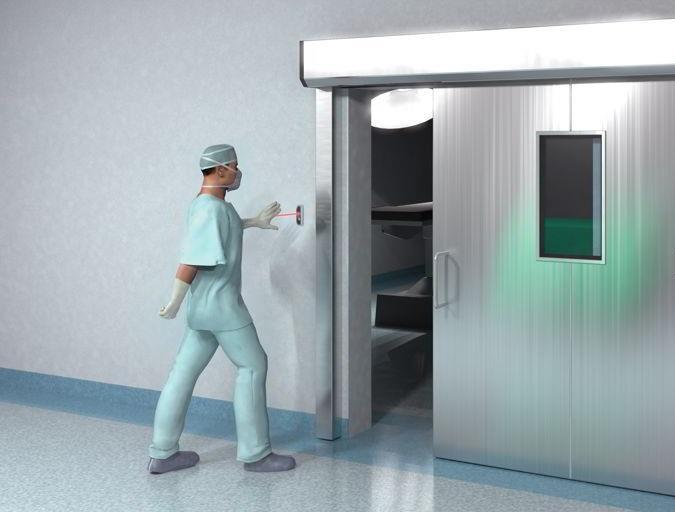 Cửa trượt tự động Panasonic Japan