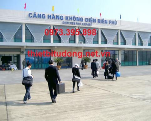 Cửa tự động tại Điện Biên