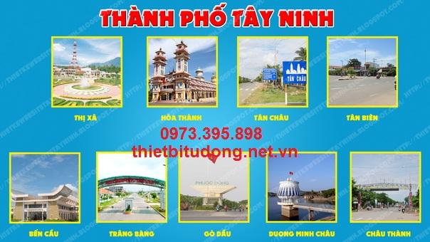 Cửa tự động tại Tây Ninh