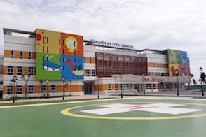Khám Phá Bệnh Viện Nhi Hiện Đại Đáng Yêu Như Trường Mầm Non