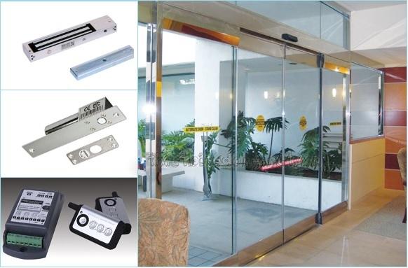 khóa cửa kính cường lực, khóa điện tử cửa kính