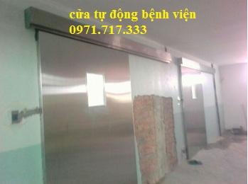 Lắp đặt cửa tự động bệnh viện YIKUOK tại Campuchia