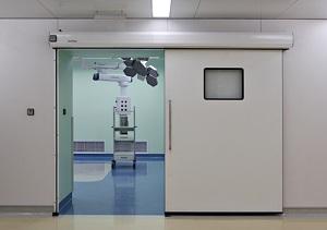 Lắp đặt cửa tự động bệnh viện