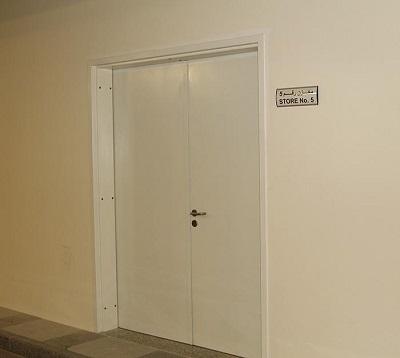 Mức độ tiêu chuẩn cửa thép chống cháy bọc chì