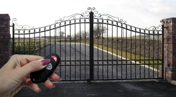 Nguyên lý hoạt động của cổng điều khiển từ xa
