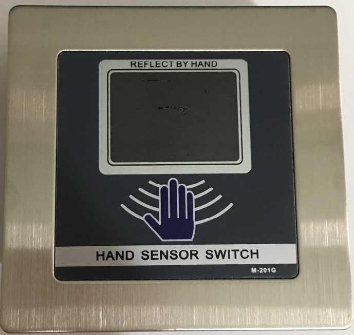 Nút nhấn Exit mở cửa tự động không tiếp xúc