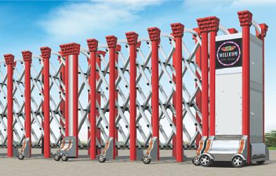 Tìm hiểu về cổng xếp điện tự động